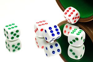 Das Würfelspiel Craps wird in vielen Spielbanken angeboten