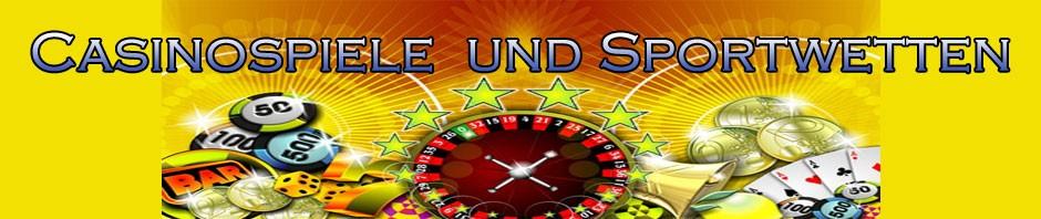 Casinospiele und Sportwetten